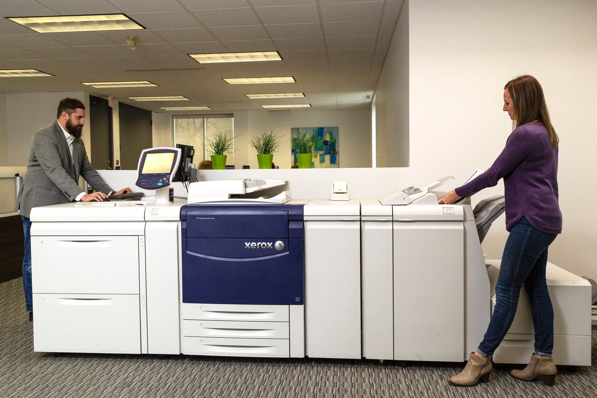 The Xerox Press at Sims Advertising